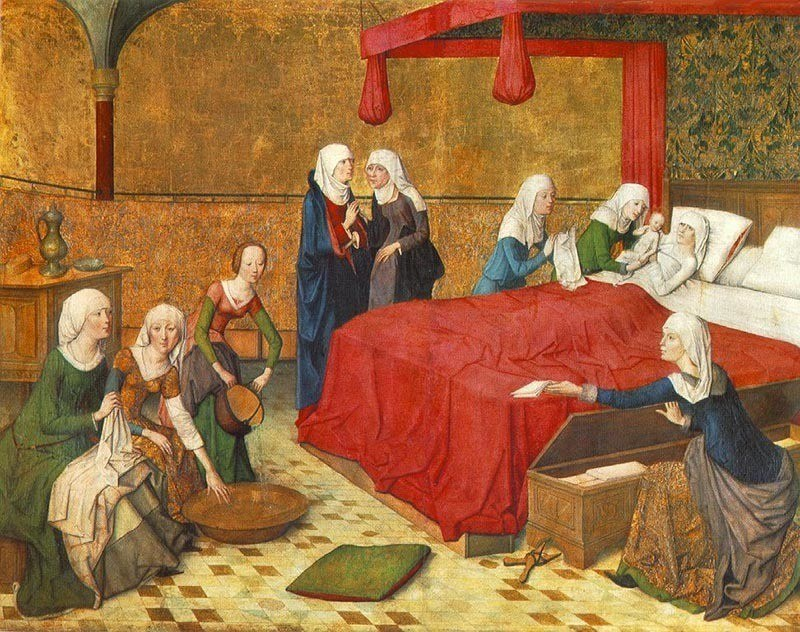 Midwife History Medieval