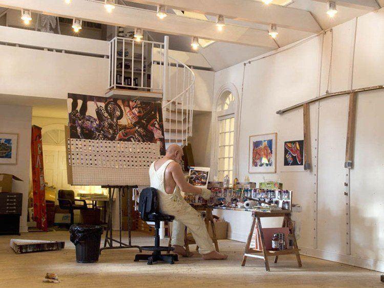 mini art studio malcolm morley