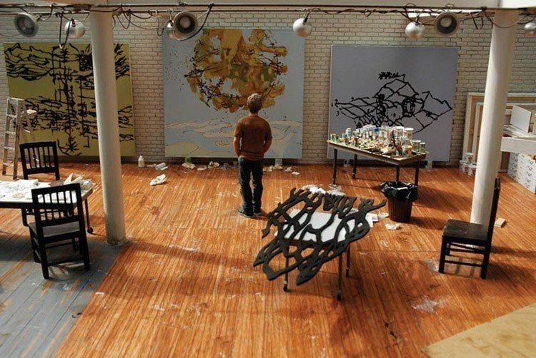 mini art studio matthew ritchie