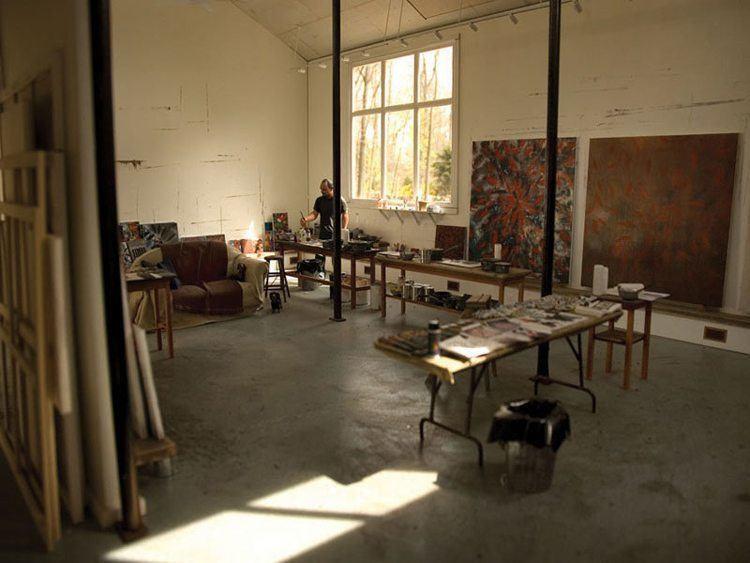 mini art studio ross bleckner