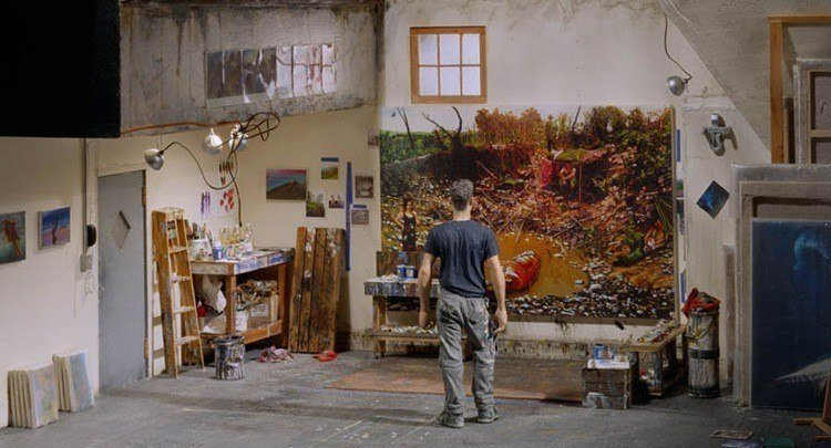 mini art studio steve mumford