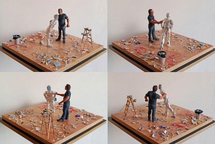 mini art studio tom friedman