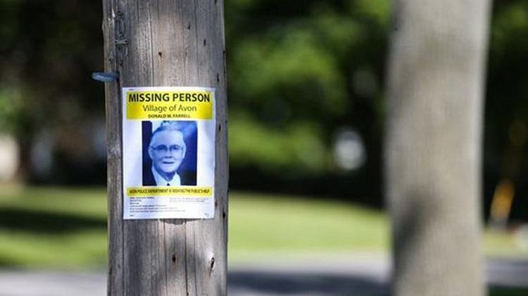 Missing Person Sign