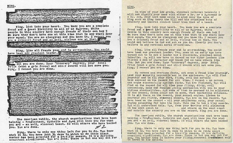 COINTEL MLK Letters