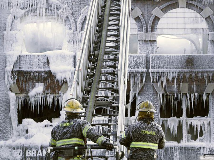 Northeast snow firefighters