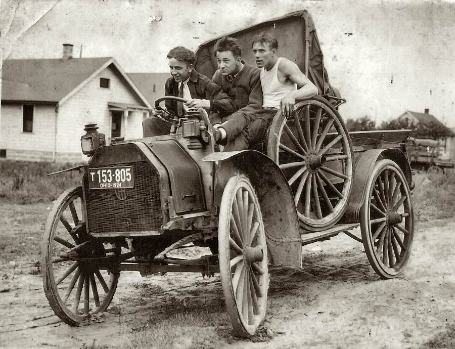 Ohio Joy Ride 1924