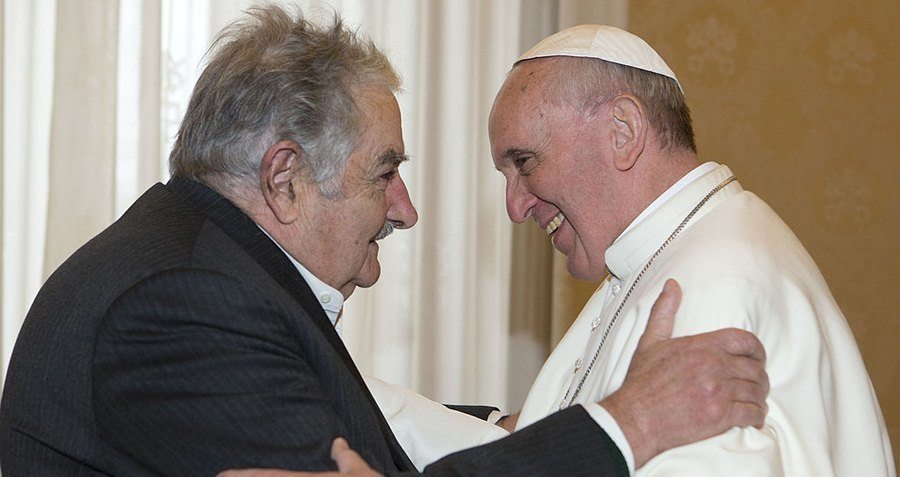Pope Francis And Jose Mujica