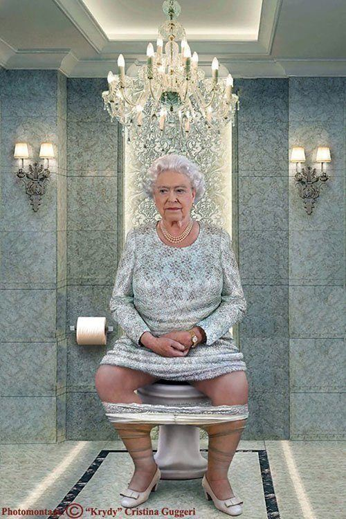 Queen Toilet