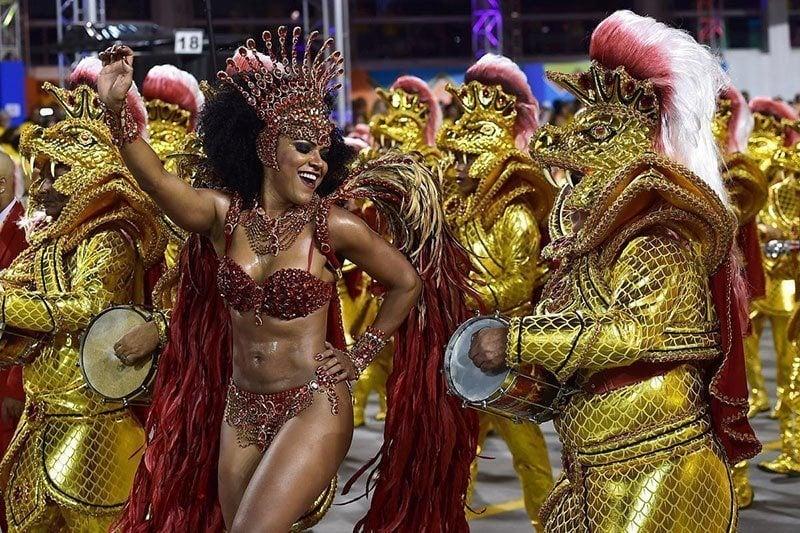 2015 Rio de Janeiro Carnival in Brazil
