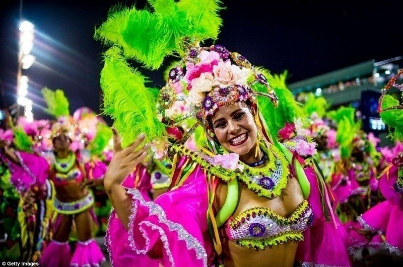 Beautiful Images of Rio Carnival