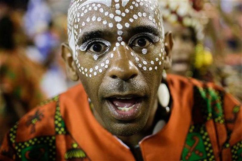 Beija Flor Samba School at Carnival
