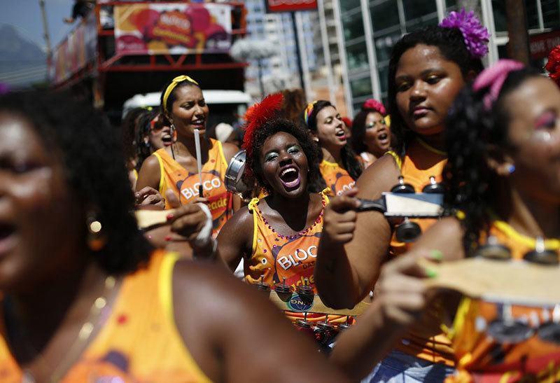 Block Party at Carnival in Rio de Janeiro