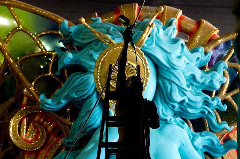 Carnival Floats in Rio de Janeiro