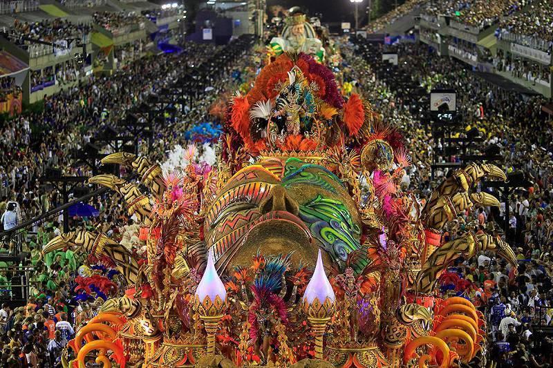Incredible Rio de Janeiro Carnival