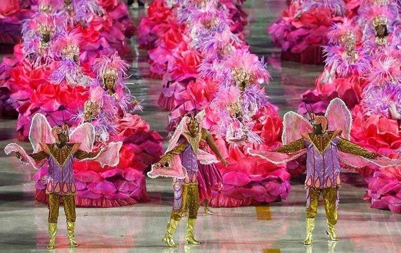 Carnival 2015 in Rio de Janeiro, Brazil