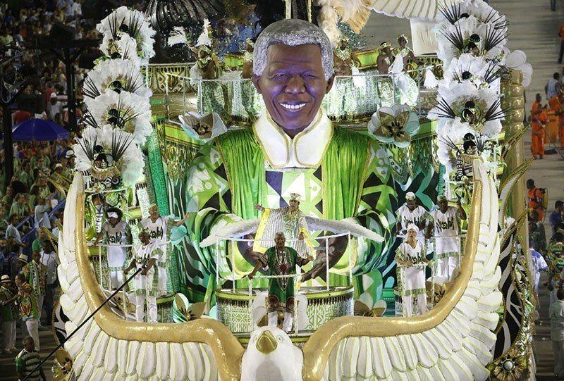 Nelson Mandela Carnival Float