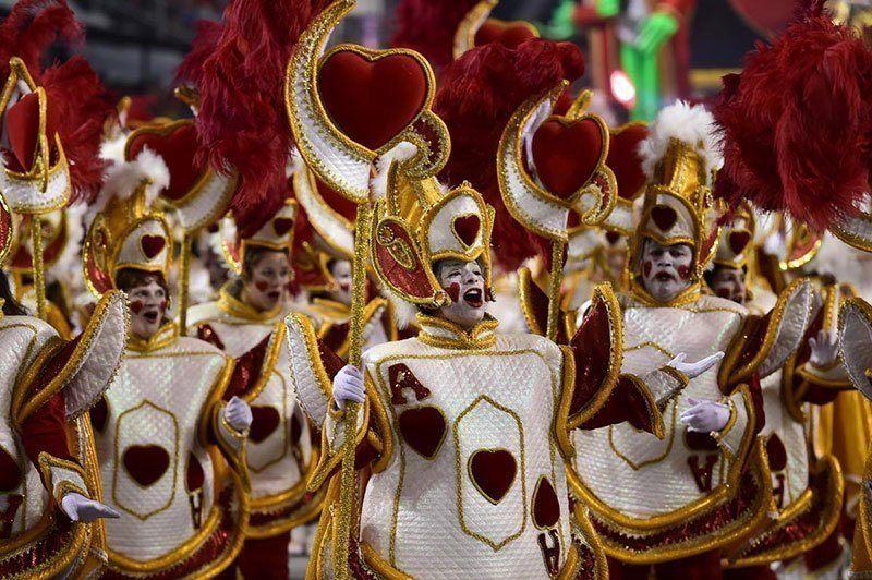 Rosas de Ouro Rio de Janeiro Carnival