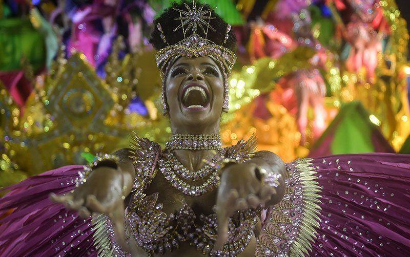 Vibrant Carnival in Rio de Janeiro