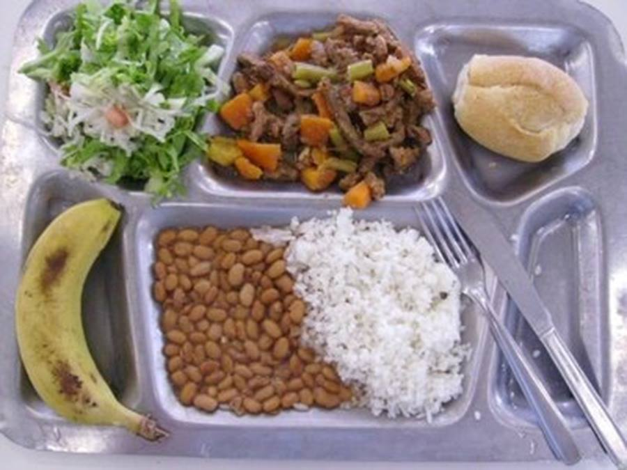 School lunch Alface