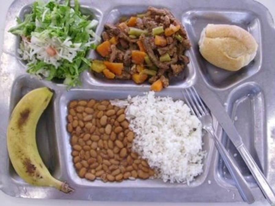 School lunch Alface