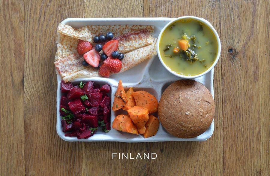 School lunch Finland