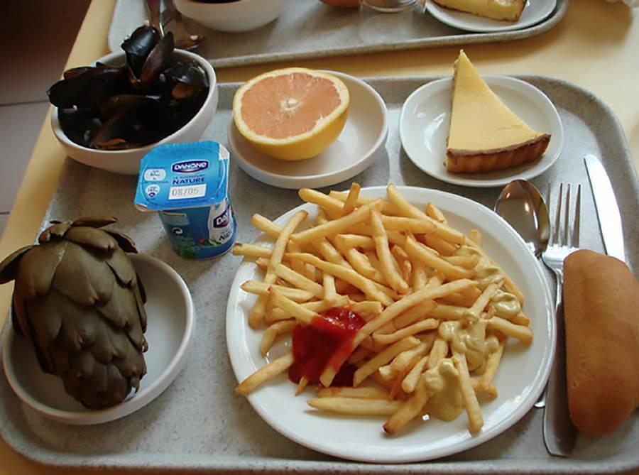 School lunch Artichokes