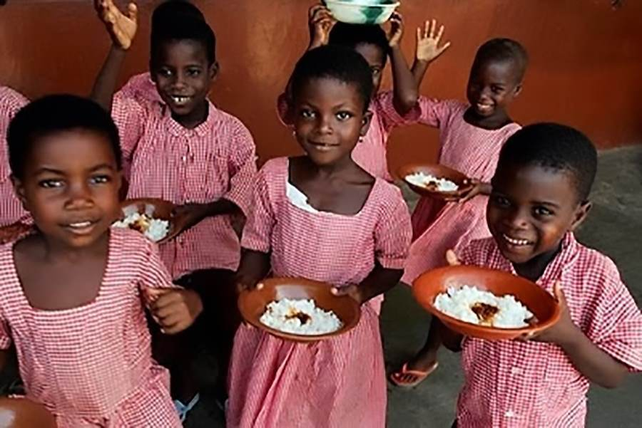 School lunches Ghana