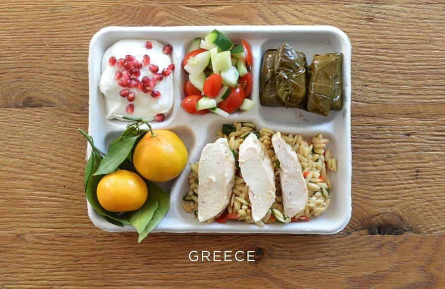 School lunches Greece