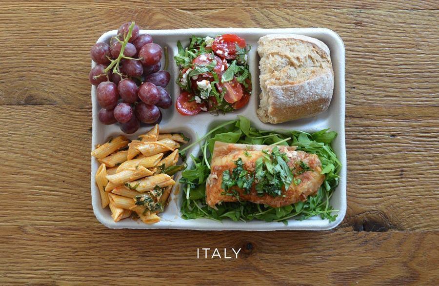 School lunches Arugula