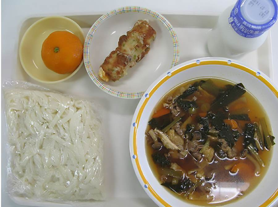School lunches Japan