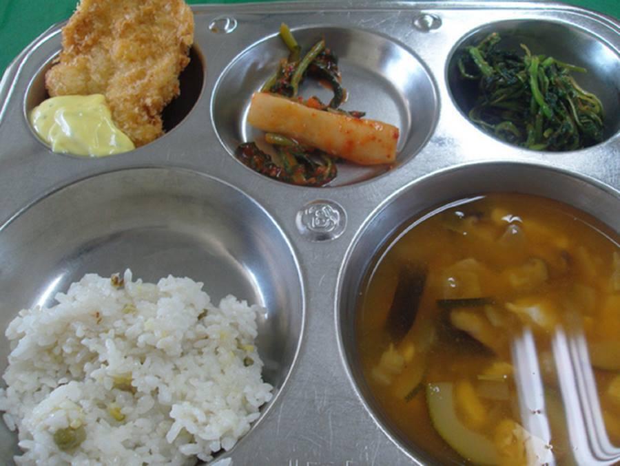 School lunches Kim Chi