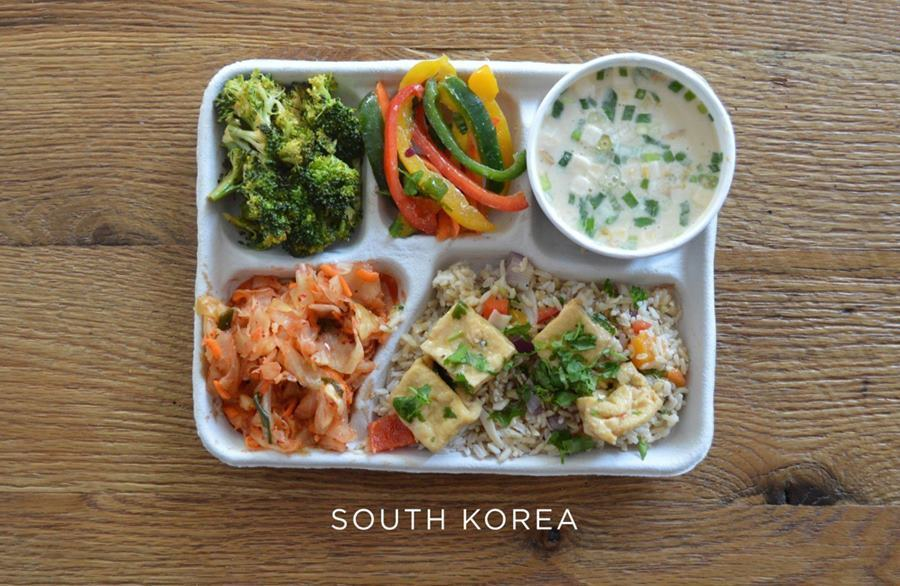 School lunches South Korea