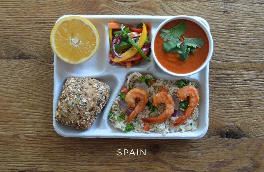 School lunches Spain