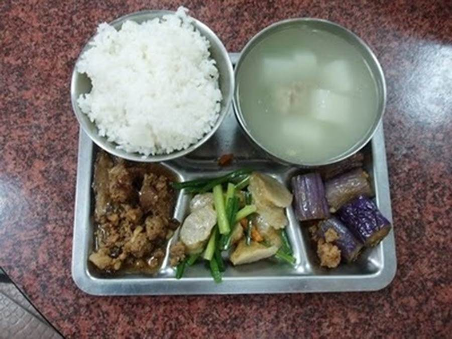 School lunches Taiwan