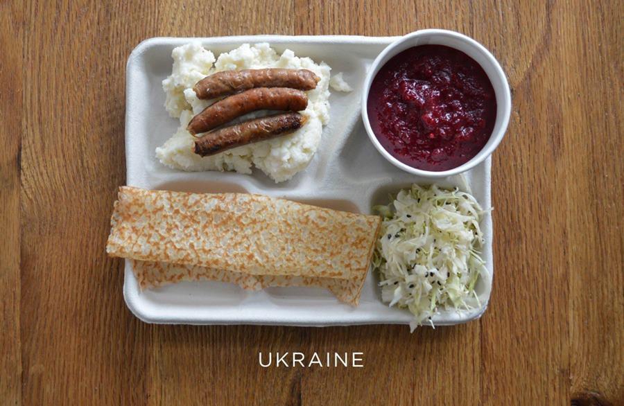 School lunches Ukraine