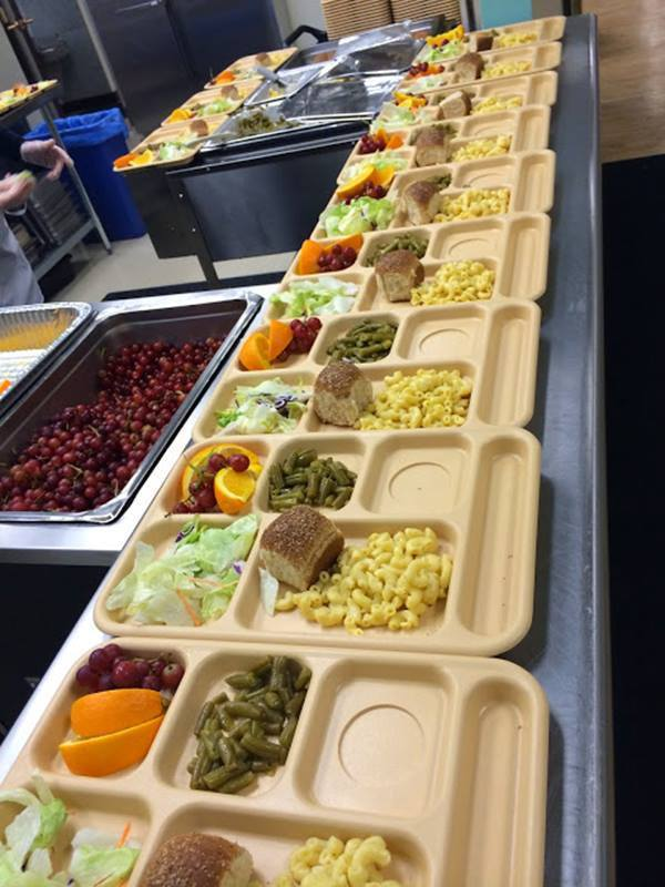 School lunches US