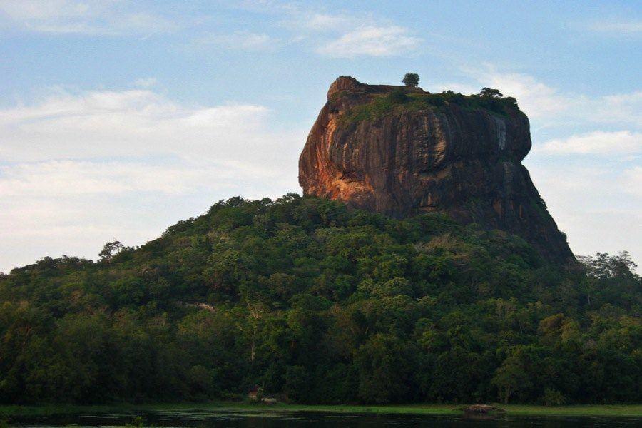 Sigiriya Palace Jungle Mountain