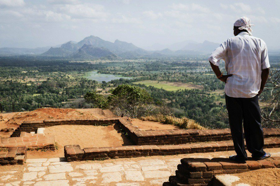 Sigiriya Palace In Sri Lanka