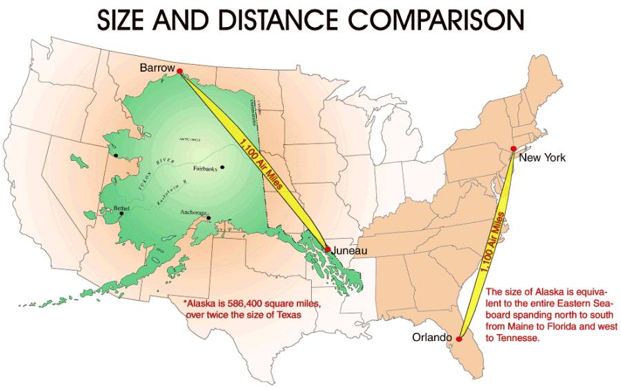 Size Of Alaska