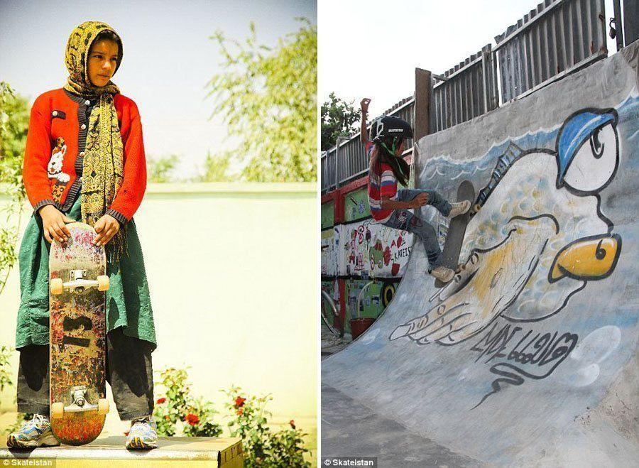 skateboard school 13 ramp afghanistan