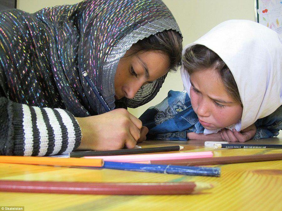 afghanistan skateboard school mixed education afghanistan
