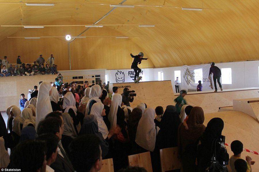 Skateboard Park In Kabul