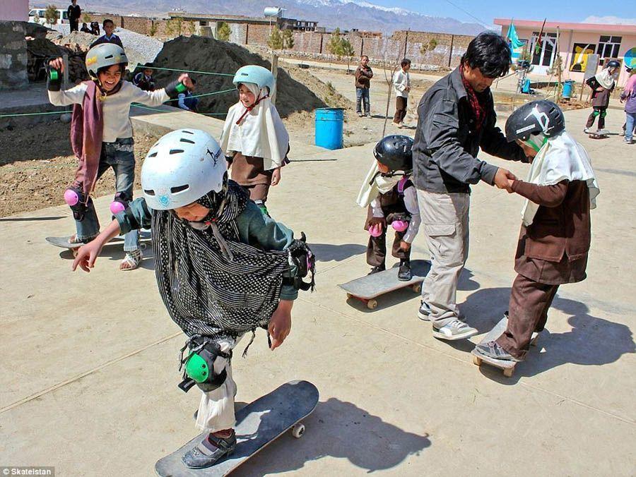 Kabul Skateboard School