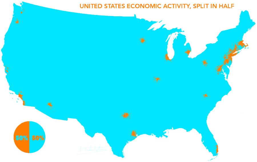 US Economic Activity Map