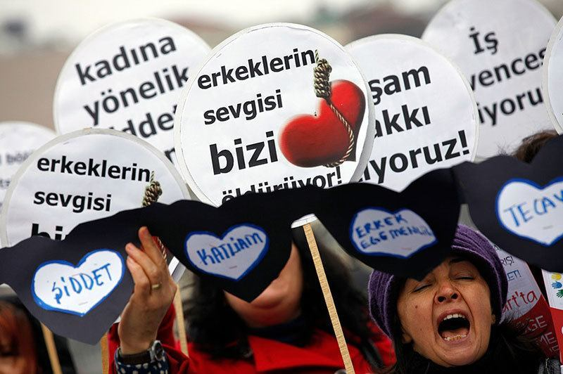 Turkish Protests on Valentine's Day