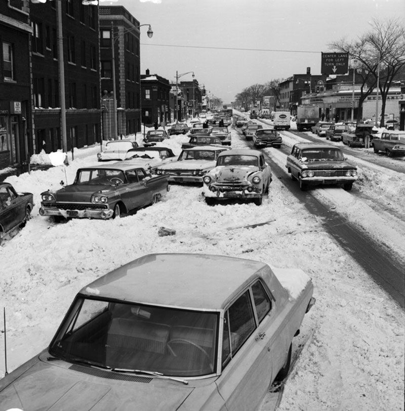 Snow in Detroit 1930s