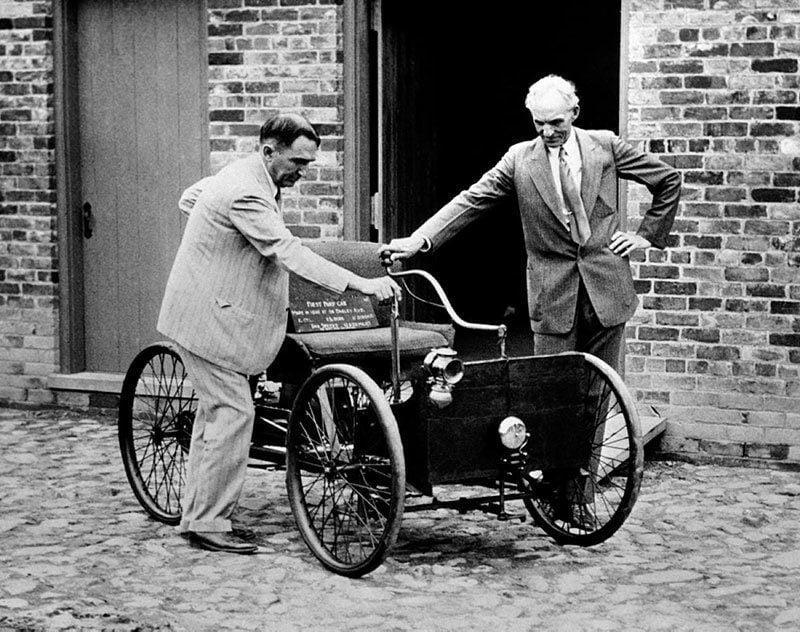Vintage Detroit in 1936
