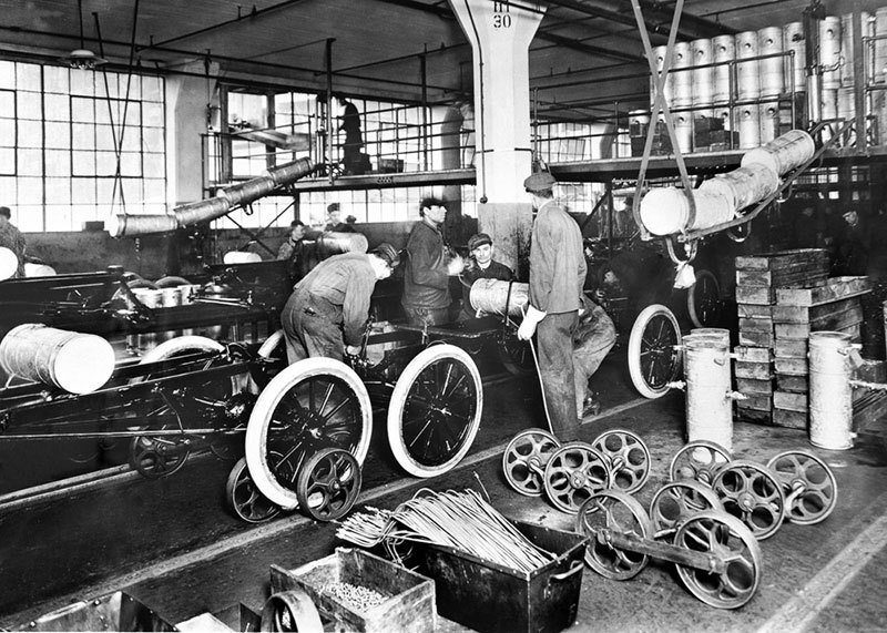 Automotive Assembly Line in Detroit