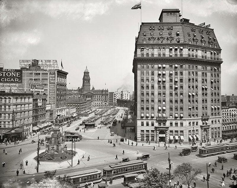 Detroit in 1917