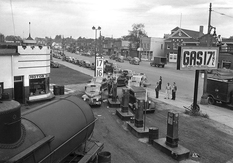 1945 in Detroit